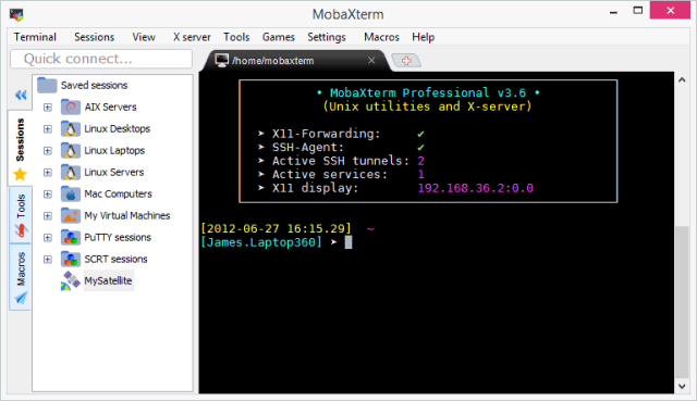MobaXTerm a Swiss-Army Knife for Remote Computing   The Linux Cluster